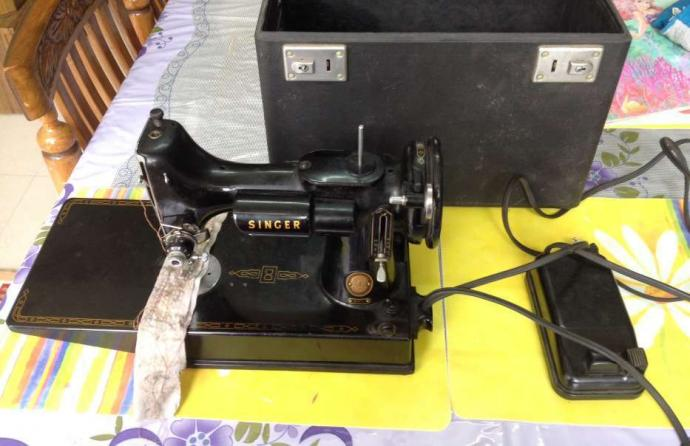 Sewing machine electric available