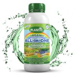 Plantic Organic All in One Plant Food Liquid Fertilizer - Home, garden