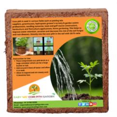 Coco Peat Blocks Coir Pith Grow Bag