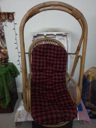 Wooden Swing with Mattress For Sale