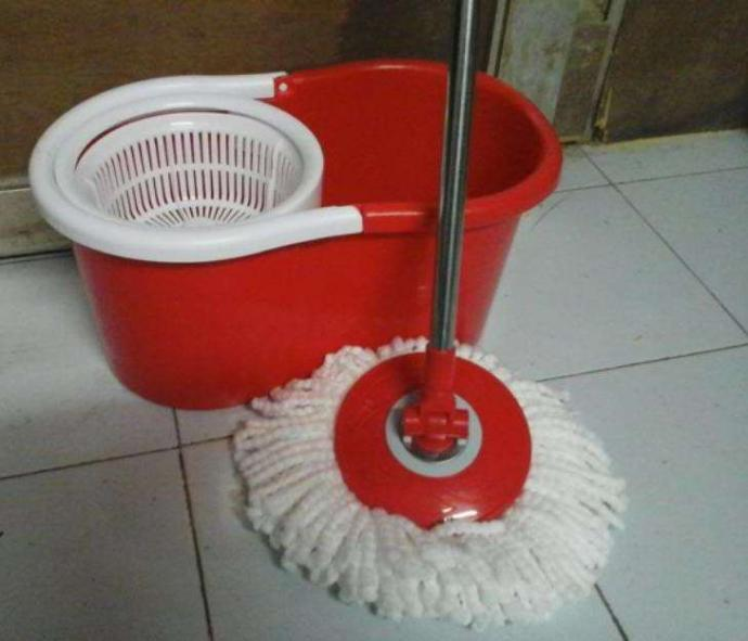 Easy Mop Floor Cleaner 360 Rotation with Dual Spinners
