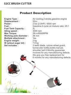 52CC Certified Brush Cutter/Grass Cutter/Paddy Cutter/weed cutter/Honda Brush Cu