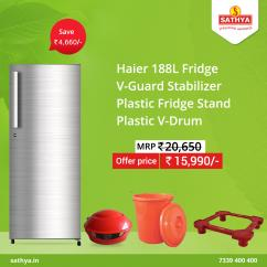 Buy Fridge Online in Sathya Online Shopping