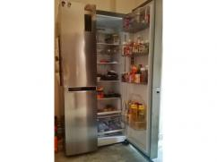 LG 687 litres side by side refrigerator with Smart thinq