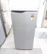Samsung single door fridge in silver in build steplizer