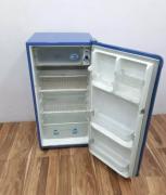 Blue colour Whirlpool genius flower model single door refrigerator