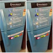 Double door fridge LG and Samsung