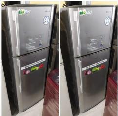 Samsung double door fridge available with Warranty