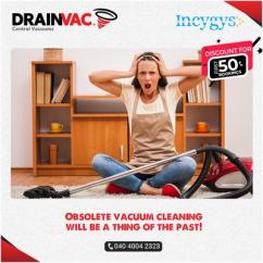 Centralised Vacuum Cleaning Systems India - DrainVac