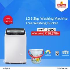 Buy Washing Machine Online in Sathya Online Shopping