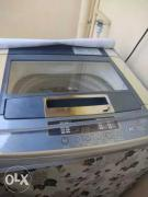 LG top load fully automatic washing machine.