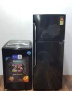 Whirlpool washing machine and Samsung refrigerator