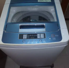 LG ,top load, automatic washing machine, blue coloured, of 6.5 kg
