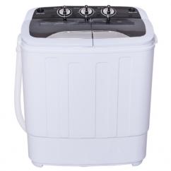 8 L b s Compact Mini Twin Tub Washing Spiner Machine