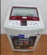 Whirlpool red 6.5 kg whitemagic fully automatic