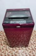 Whirlpool 123 maroon colour top load washing machine