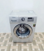 Samsung digital inverter 6.5 kg chrome door front load washing machine