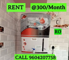 RO WATER PURIFIER for rent