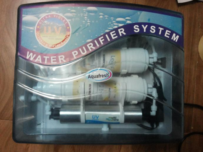 New aqua uv water purifier with free installation