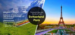 MAGICAL SWISS PARIS Amazing Holiday Package from Kolkata