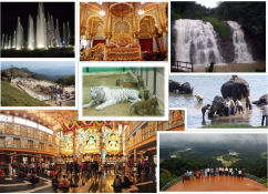 Bangalore, Mysore, Coorg , Wayanad(6 nights/7 days) 09019944459