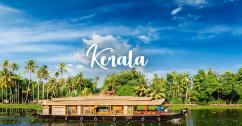 Backwaters, Beaches  & Hills of Kerala Holiday Tour Package 4Days/3Nights
