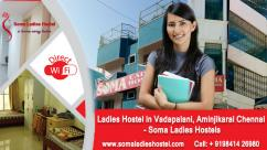 Ladies Hostels In Aminjikarai, Chennai  Paying Guest For Womens