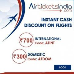 International & Domestic Flight booking with airticketsindia