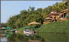 Riverside resort in ankola ,Ankola hotels , Resorts near ankola , SaiResorts