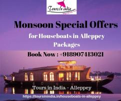 Alleppey Boat House Monsoon Special Offers