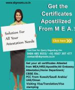 MEA Apostille Attestation