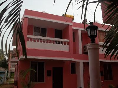 2BHK Villa for rent in Goa near Varca beach Rs.4000 per night for 6 persons