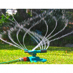 Three Arms Sprinkler for watering lawn and gardens