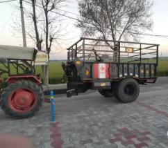New tractor troli