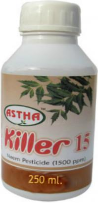 Neem Pesticide Astha Killer 15 (250 ml.) Rs. 130