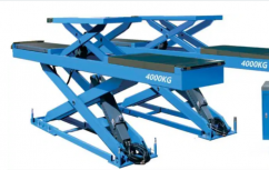 8 days used Wheel Alignment Scissor lift.