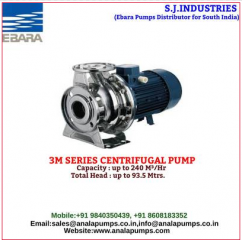 Horizontal single stage pumps - Industrial Machinery