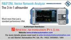 ZNLE Vector Network Analyzer - Sinetec Automation Pvt Ltd
