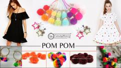 Buy Colored yarn pom pom balls pom pom balls crafts