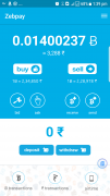 Earn  free Bitcoins from Zebpay wallet