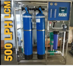 Ro plant 500 lph at best price brand new