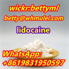Lidocaine base cas 137-58-6 lidocaine supplier lidocaine powder best price
