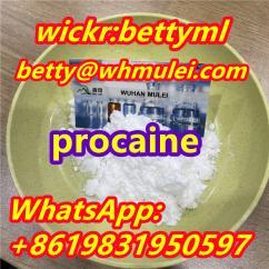 Procaine powder cas 59-46-1,procaine/lidocaine/tetracaine/benzocaine supplier