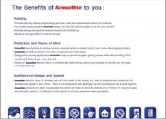 Wanted Dealers from all states for ArmorRite security Doors and Windows