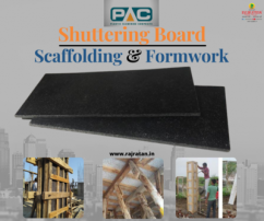 PAC Shuttering Board - Construction equipment, building supplies