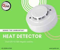 Heat Detector Designed To Provide Safety