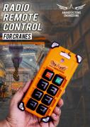 Crane Remote Control for every Overhead Crane and Hoist