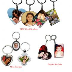 Unique Lovely Sublimation Keychains Are Available in Dollyrasa Gifts Shop
