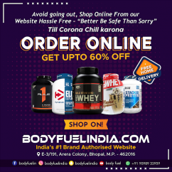 Bodybuilding Supplements & Whey Protein suppler in India