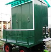 Mobile Bio Toilet Van with Solar Panel